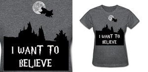 Harry Potter I Want To Believe by Enlightenup23