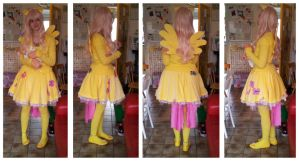 Fluttershy cosplay by PokeponyAquaBubbles