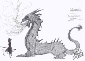 Fablehaven Glommus (Pen Practice) by Deer-Head