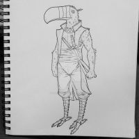 Toucan Samurai V3 by thesometimers