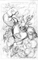 Green Lantern Corps layout by Cinar