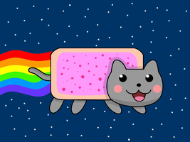 Nyan Cat by yufery5