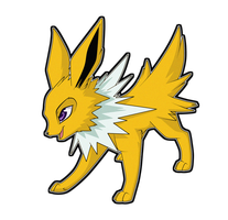Jolteon' by Sugarcup91