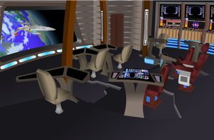 USS ENTERPRISE BRIDGE AFT VIEW by S0LARBABY
