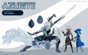 Gem Fusion Azurite by TheGraffitiSoul