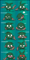 Yabukuron Expressions by Fishlover