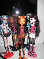 My Monster High dolls(Torelai) by Winxhelina