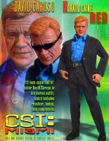 CSI Miami Horatio Caine  Doll by kingsley-wallis