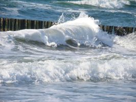 Il Mare 012 White Breakers by LuDa-Stock