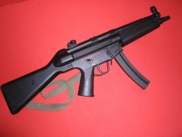 HK MP5A4 9mm Parabellum by Marcoon1305