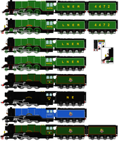 Flying Scotsman (my headcannon) by RyanBrony765