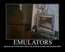 Emulators -demotivation- by Dragunov-EX