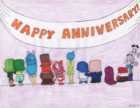 Inside Out Group Anniversary Contest Entry by KatieGirlsForever