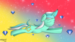 Lyra in the Sky with Diamonds by ZSparkonequus