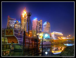 Columbus and the Santa Maria by CashMcL