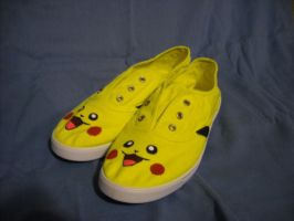 Pikashoes, I choose you! by WizardTypist