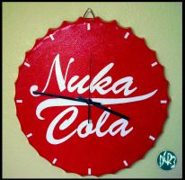 Nuka Cola Clock by DCRIII