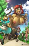 Giantess Catgirl Toys by giantess-fan-comics