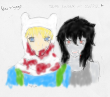You're under my control ~ *with colors?* by Itamichiro