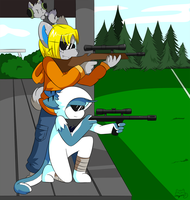 Prize: Shooting Range by SmilehKitteh