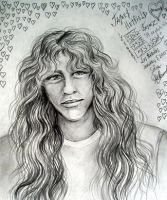 young James Hetfield - Metallica art by Sofia by SOFIAMETALQUEEN