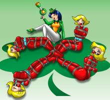 TS - Four...Clovers by ARNie00