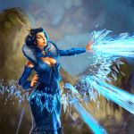 Age of Champions Frostburn Enchantress by anotherdamian