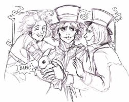 Happy Unbirthday Hatter by terrabm
