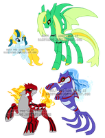 PokePony Adoptables 29 by Sakuyamon
