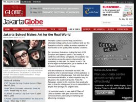 Carrot in The Jakarta Globe by carrotacademy