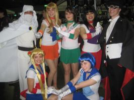 Sailor Scouts Group by Katay