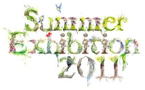 Summer Typography by amwah