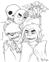Gorillaz hallows eve by my-canga
