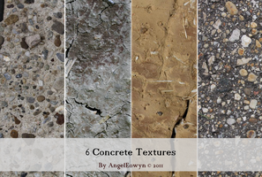 Concrete Texture Pack by AngelEowyn