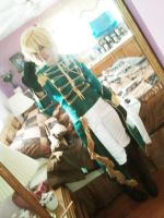 WIP Vocaloid Kagamine Len for otakon 2012 by Miss-mimiko