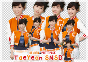 [[Render/Photopack] #2 : Taeyeon SNSD. by TouHynNe