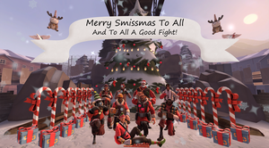 Merry Smissmas to All and To All A Good Fight by blackmoonrose13