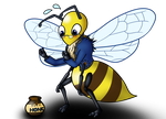 Rise of the Cor-Bee! (Bee transformation) by Ryusuta