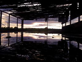 Sunset Factory by unknownwittness