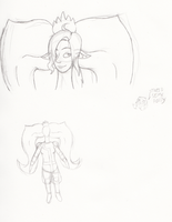 Possy Practice Doodles by Flareblade2000