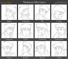 Norman Expressions Meme by Everyday-Grind-Comic