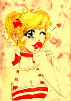 Strawberry Lollypop Lips by Cephis