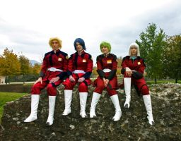 Gundam Seed - Toy Soldiers by AtlantisLux