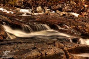 HDR Water Flows over it 3 by Nebey