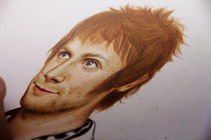 Dominic Howard 2.0 by symbebekos
