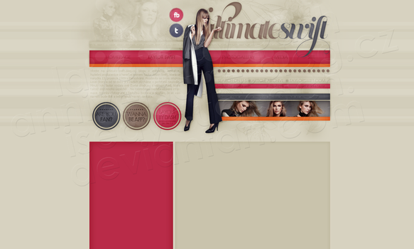Layout: Taylor Swift by iseayoubeach