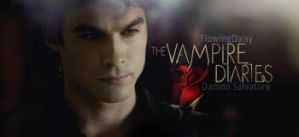 Damon Salvatore by FlowingDaisy