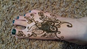 Leafy Henna pattern by CaptainMorganTeague