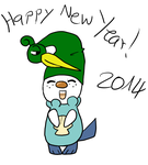 Happy New Year 2014 by Sixala