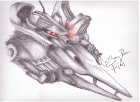 Supplice Armored Core 4 by Metalical-EmO-Kris
